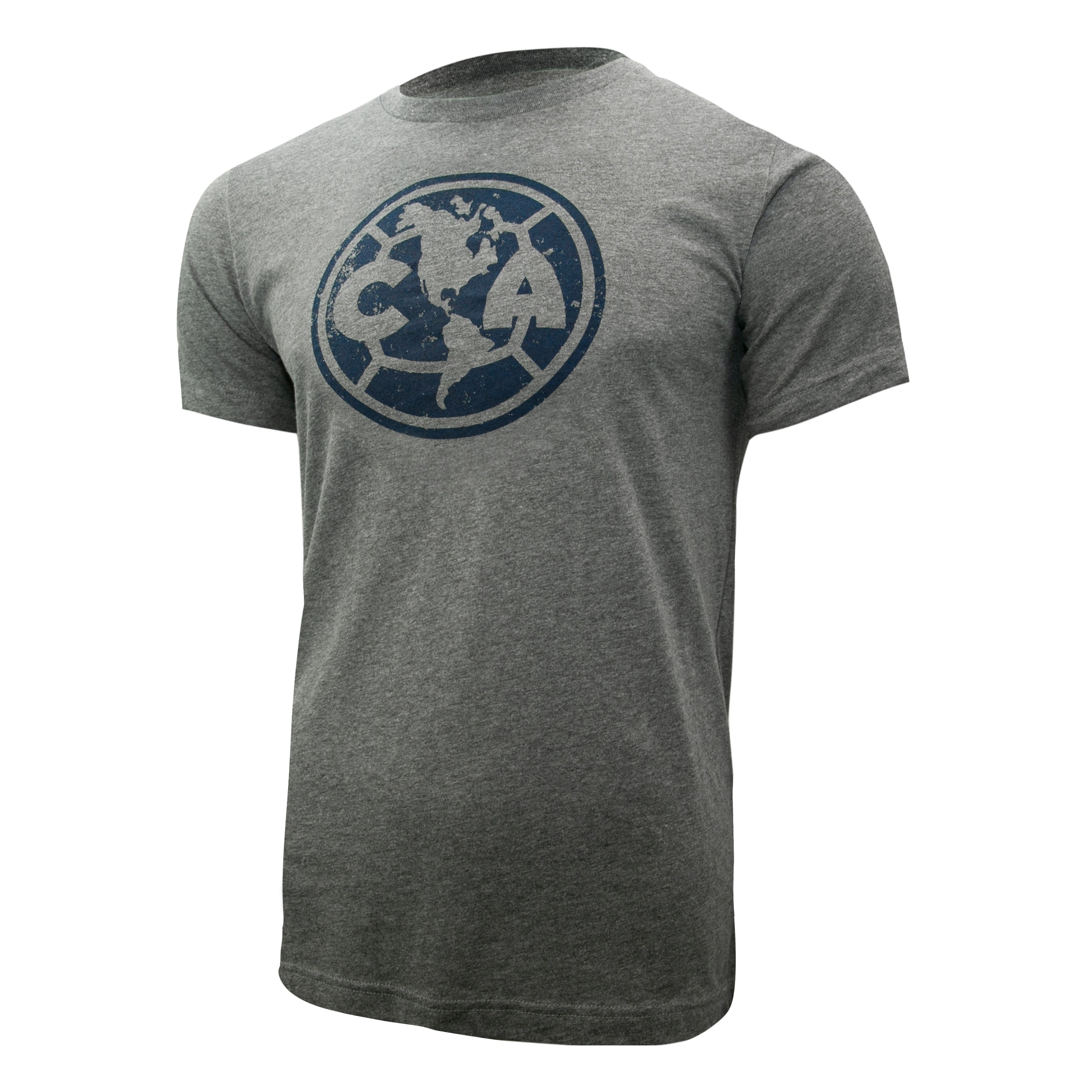 Club América Distressed Logo T-Shirt - Navy Blue by Icon Sports