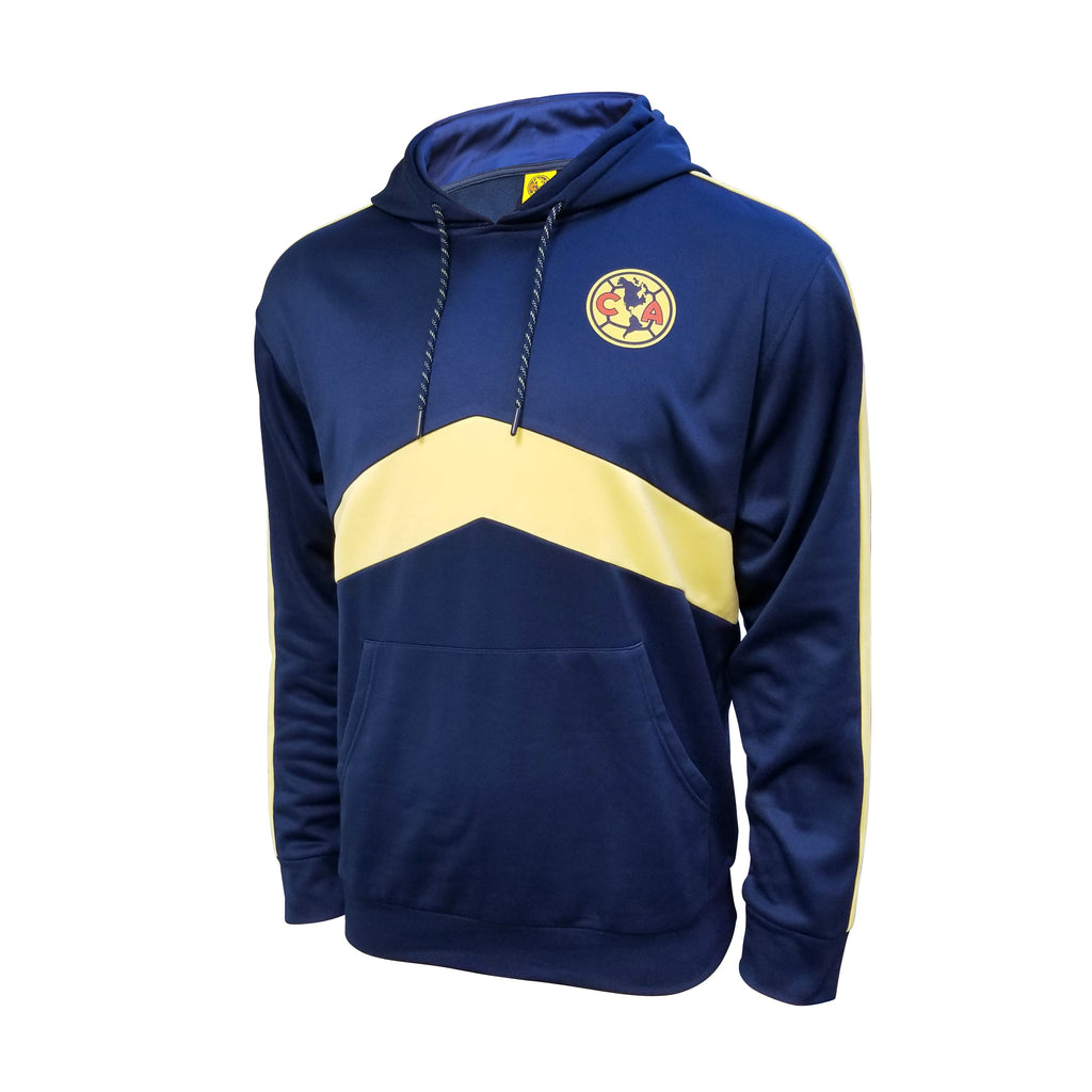 Club América Pullover Hoodie - Navy & Yellow by Icon Sports