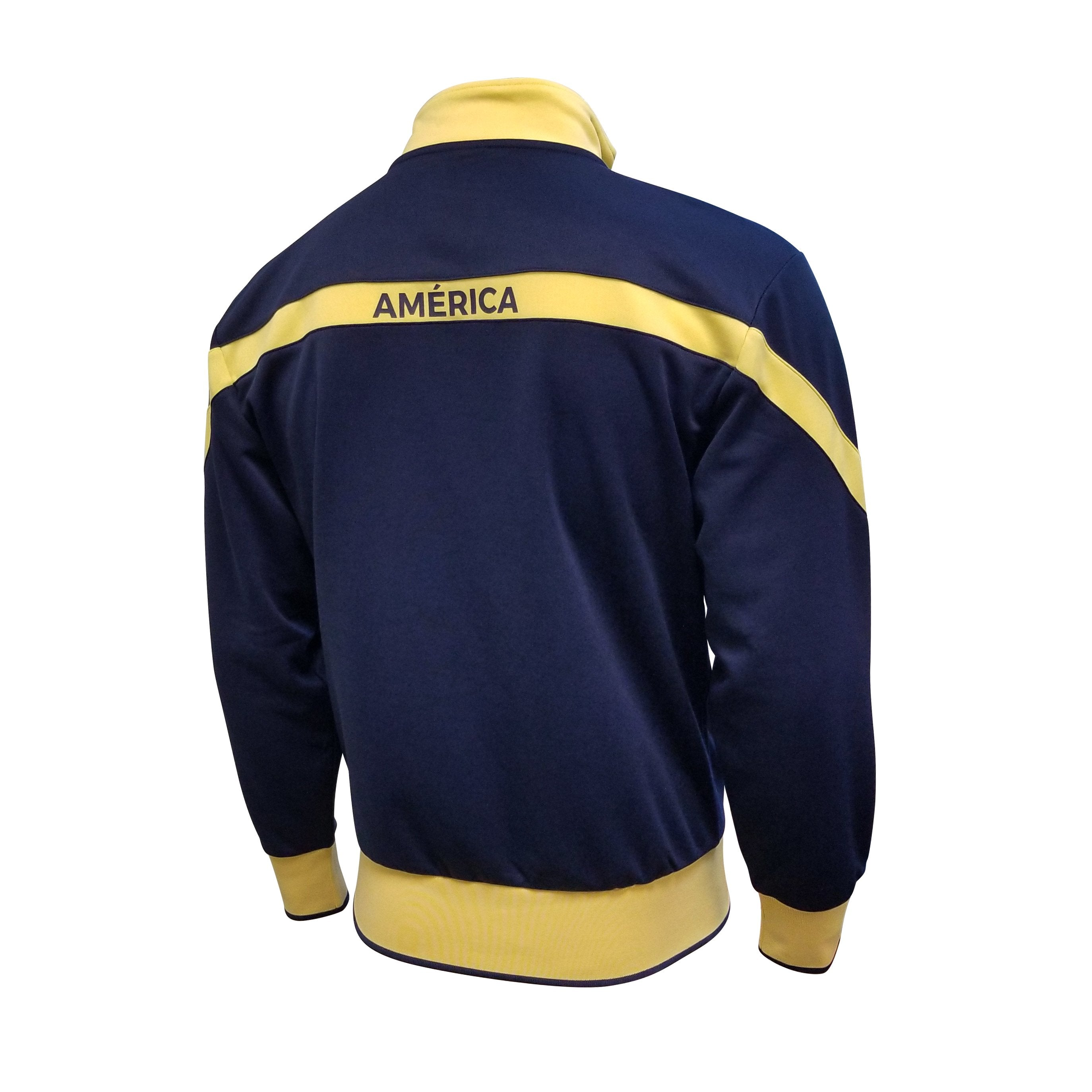 Club América Full Zip Track Jacket - Navy & Yellow
