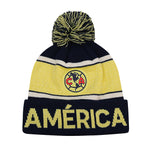 Club América Adult Pegged Pom Pom Beanie by Icon Sports