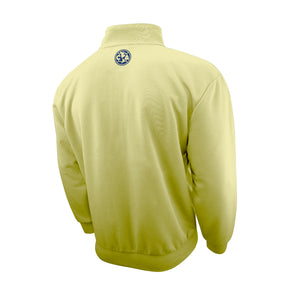"Club América ""Centering"" Adult Full-Zip Track Jacket - Yellow by Icon Sports"