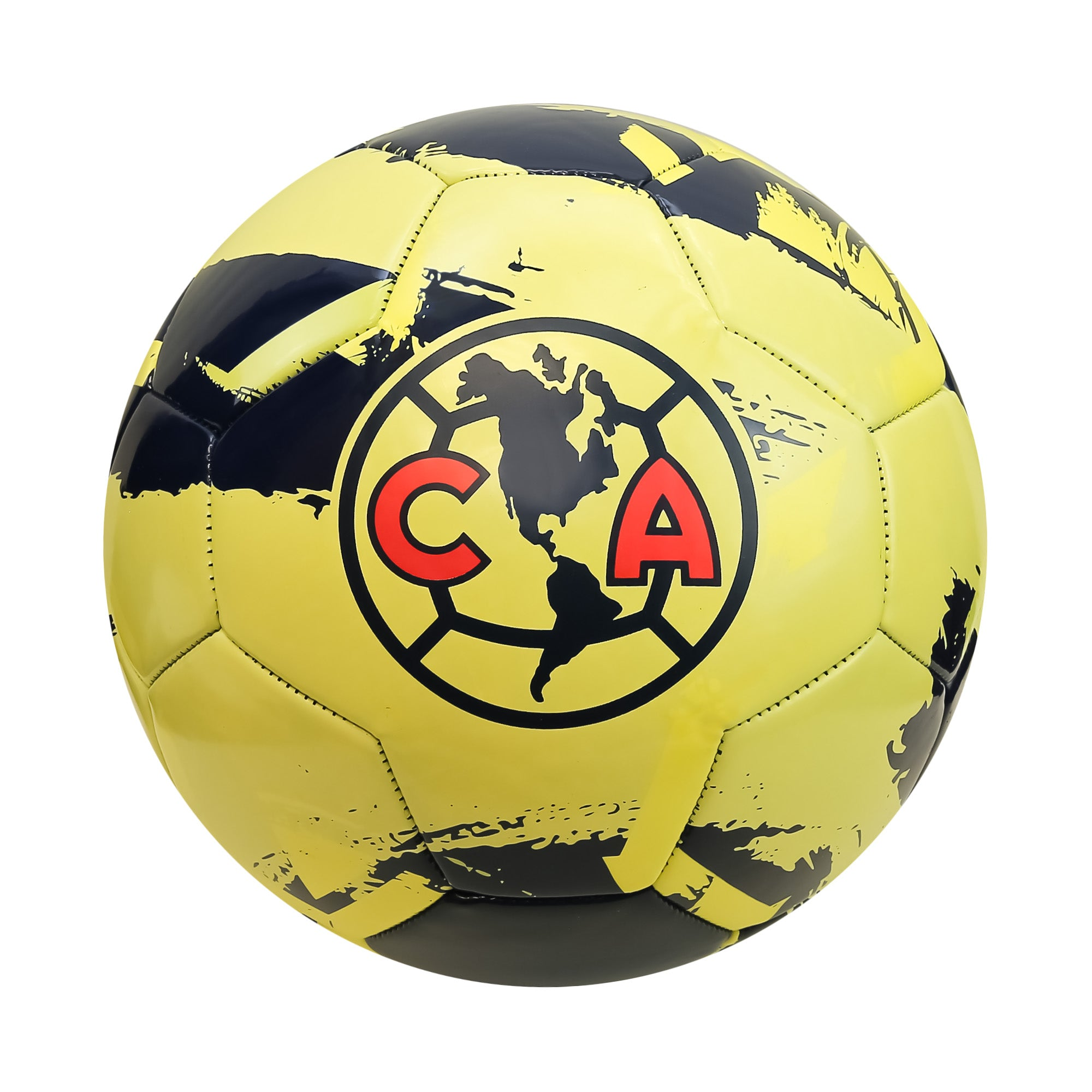 Club América Brush Regulation Size 5 Soccer Ball by Icon Sports