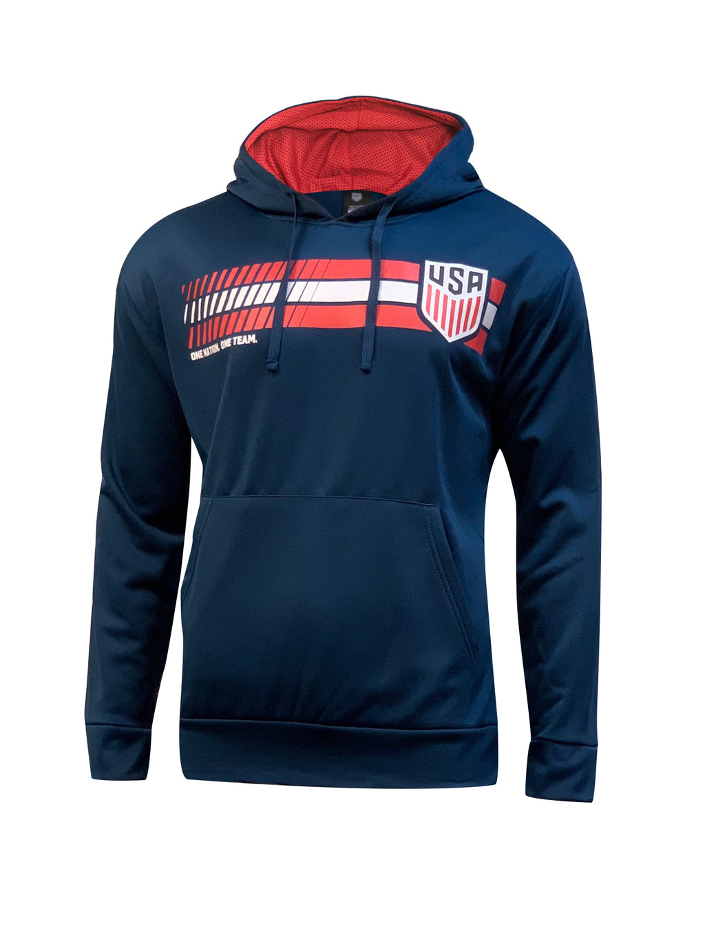 U.S. Soccer Men's One Nation. One Team. Hoodie by Icon Sports