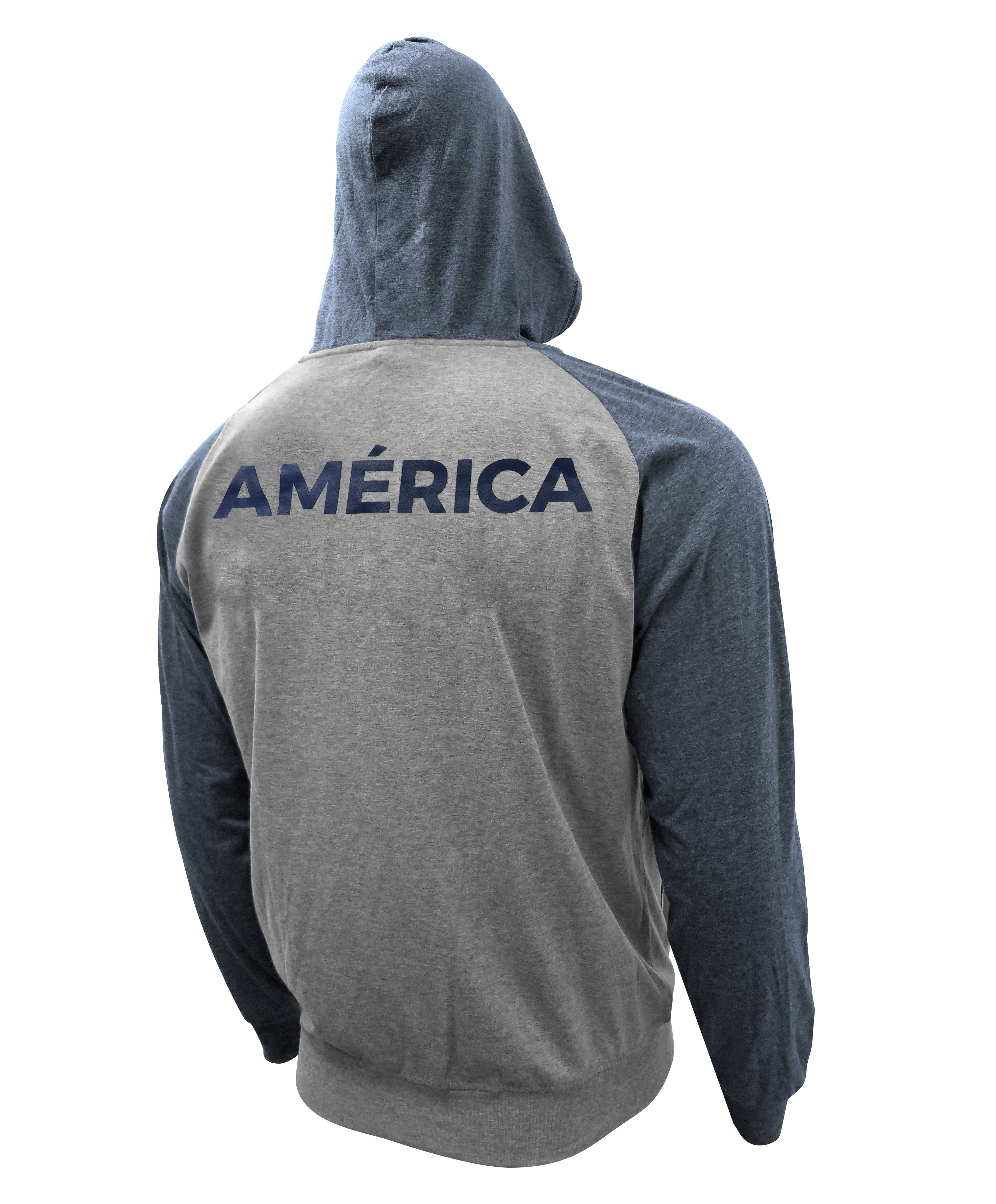 Club América Full-Zip Lightweight Hoodie by Icon Sports