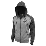 Real Madrid Lightweight Full-Zip Hoodie by Icon Sports