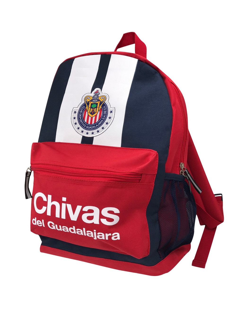 Chivas Backpack - Navy Blue Front by Icon Sports