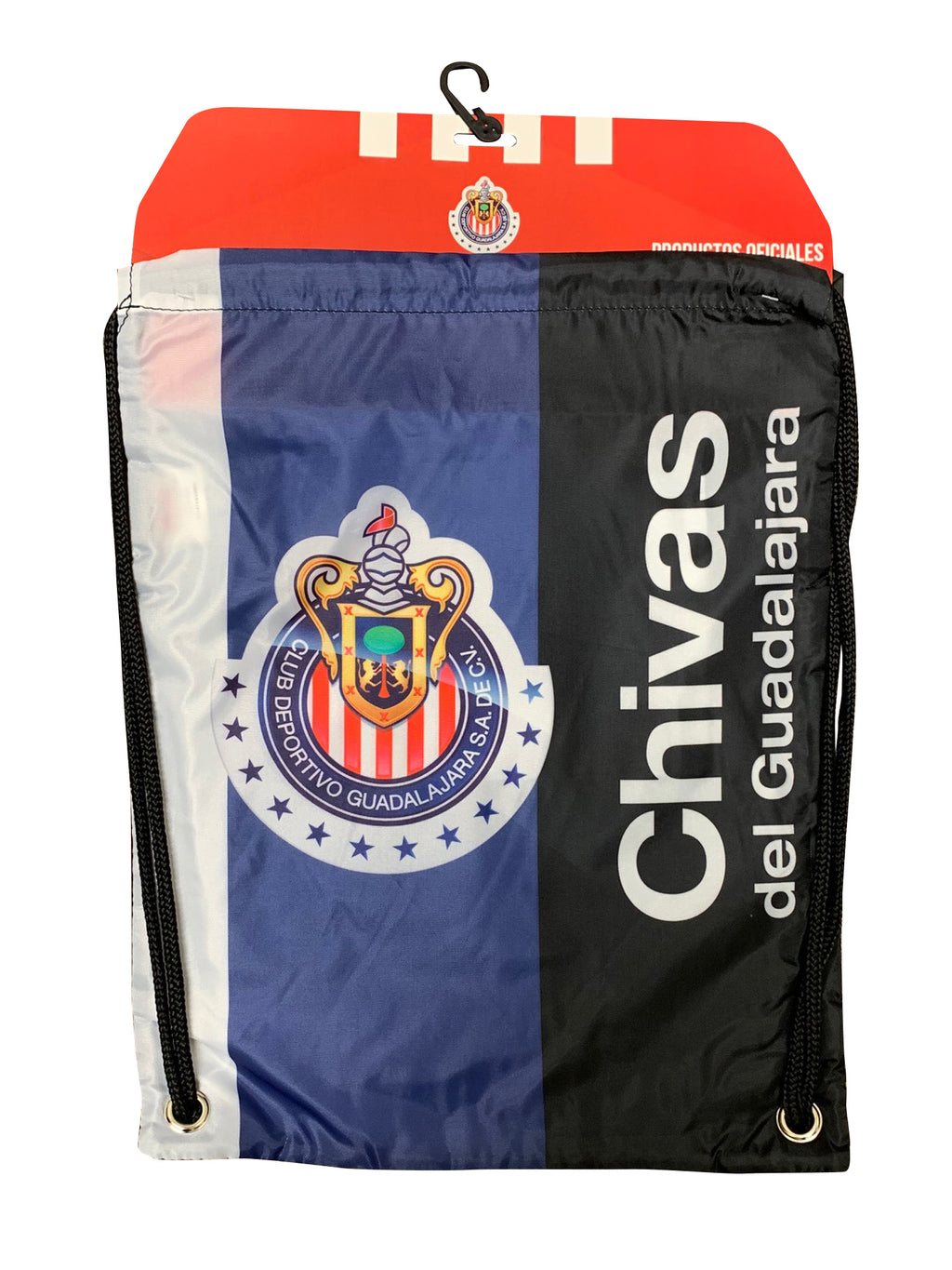 Chivas Logo Drawstring Cinch Bag