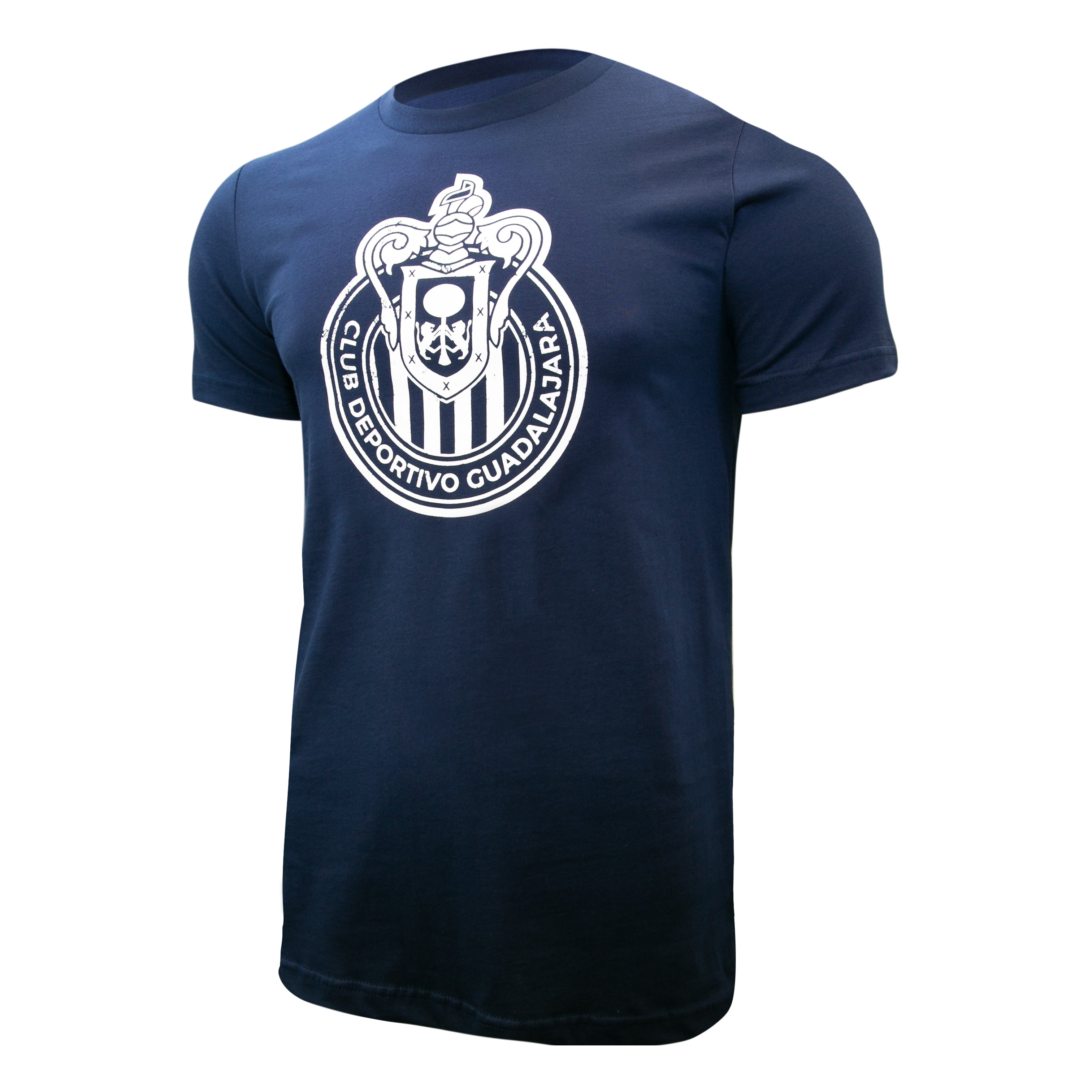 Chivas del Guadalajara Distressed Logo T-Shirt - Dark Grey by Icon Sports