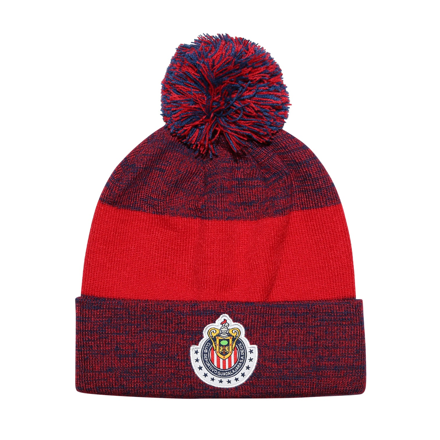 Chivas Heathered Cuff Pom Beanie by Icon Sports
