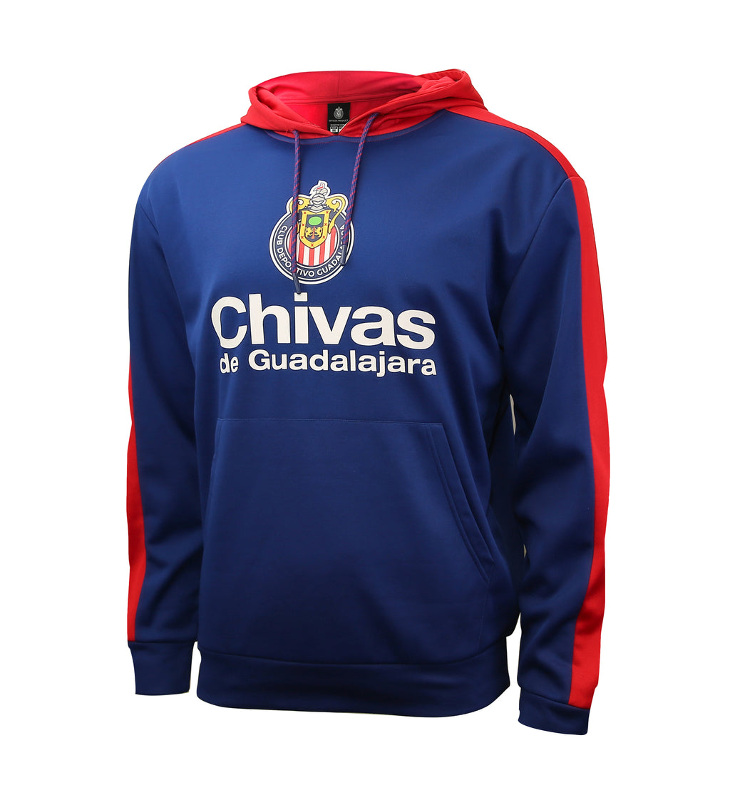Chivas de Guadalajara Side Step Pullover Hoodie by Icon Sports