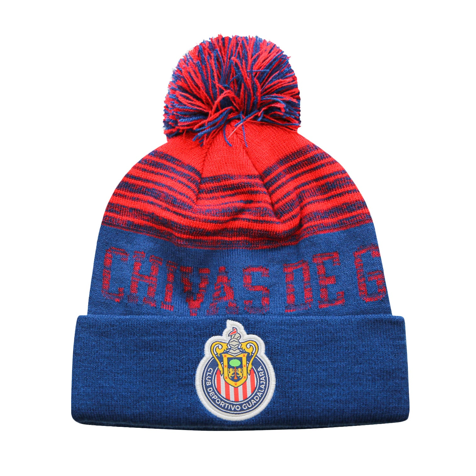 Chivas Shade Cuff Pom Beanie by Icon Sports