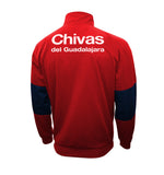 Chivas Del Guadalajara Touchline Adult Full-Zip Track Jacket by Icon Sports