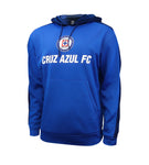 Cruz Azul Side Step Adult Pullover Hoodie by Icon Sports