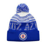 Cruz Azul Shade Pom Pom Beanie by Icon Sports