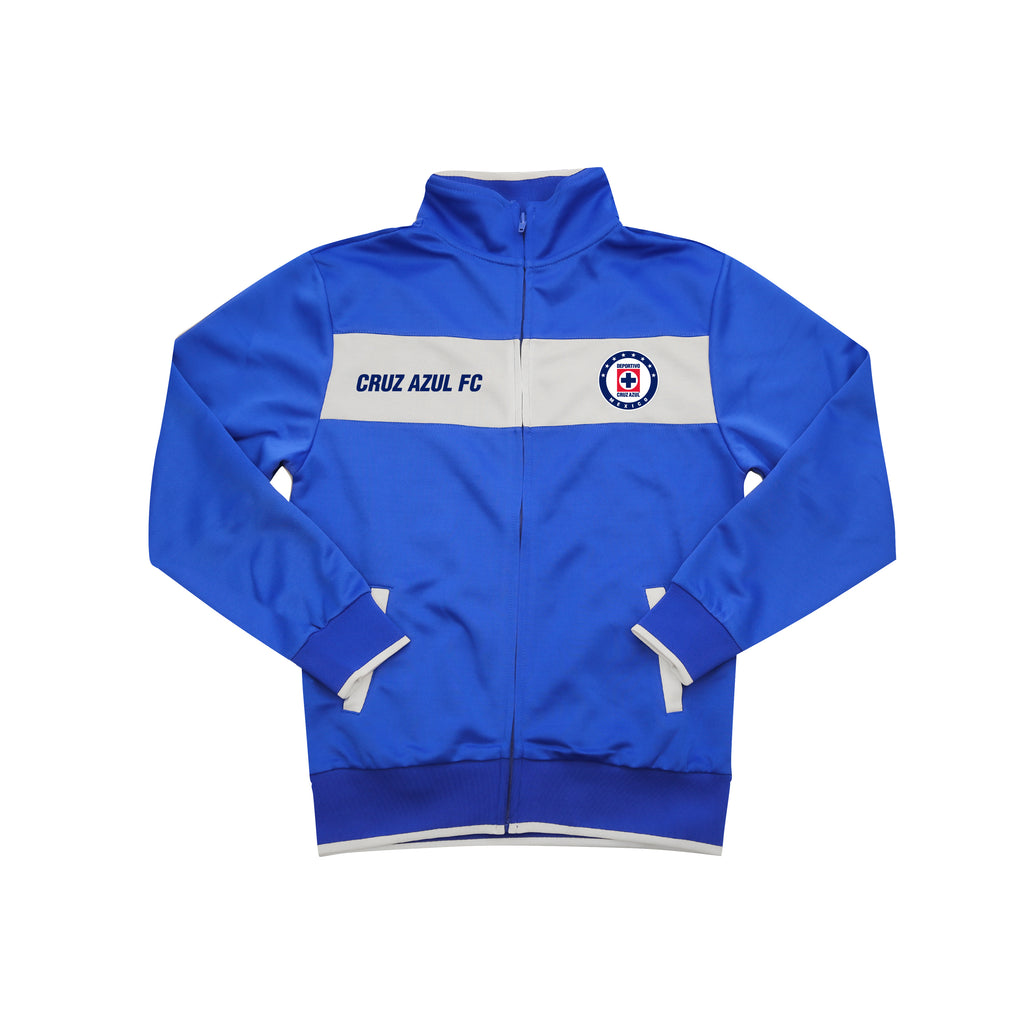 Cruz Azul Centering Youth Full-Zip Adult Track Jacket by Icon Sports