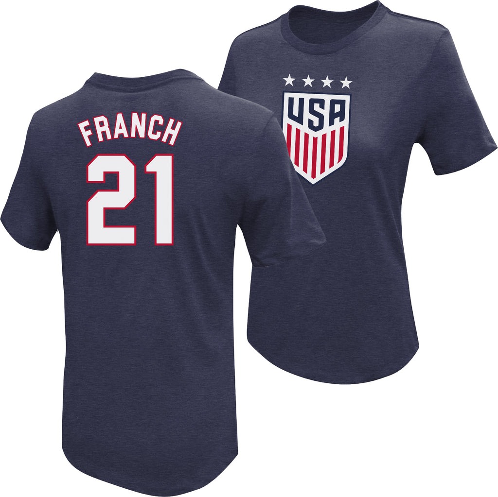Adrianna Franch USWNT 4 Star T-Shirt