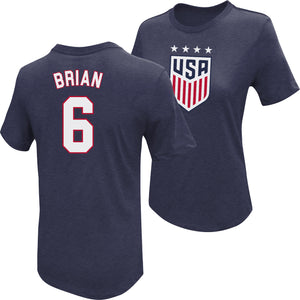 Morgan Brian USWNT 4 Star T-Shirt by Icon Sports