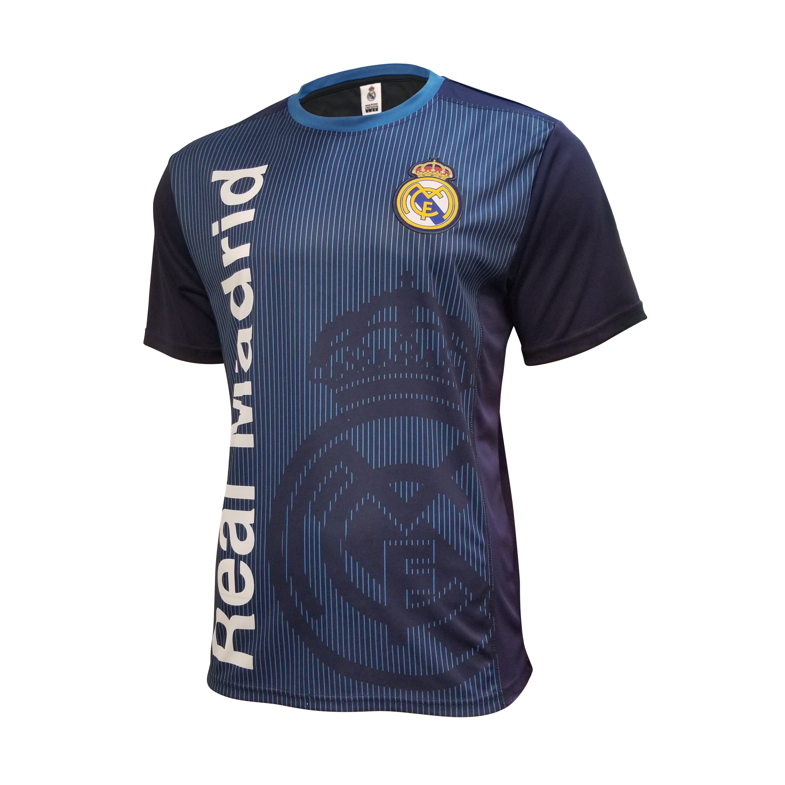 Real Madrid Sublimated Training Class Shirt by Icon Sports