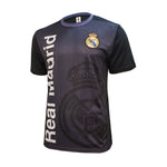 Real Madrid C.F Stadium Class Poly Shirt - Black