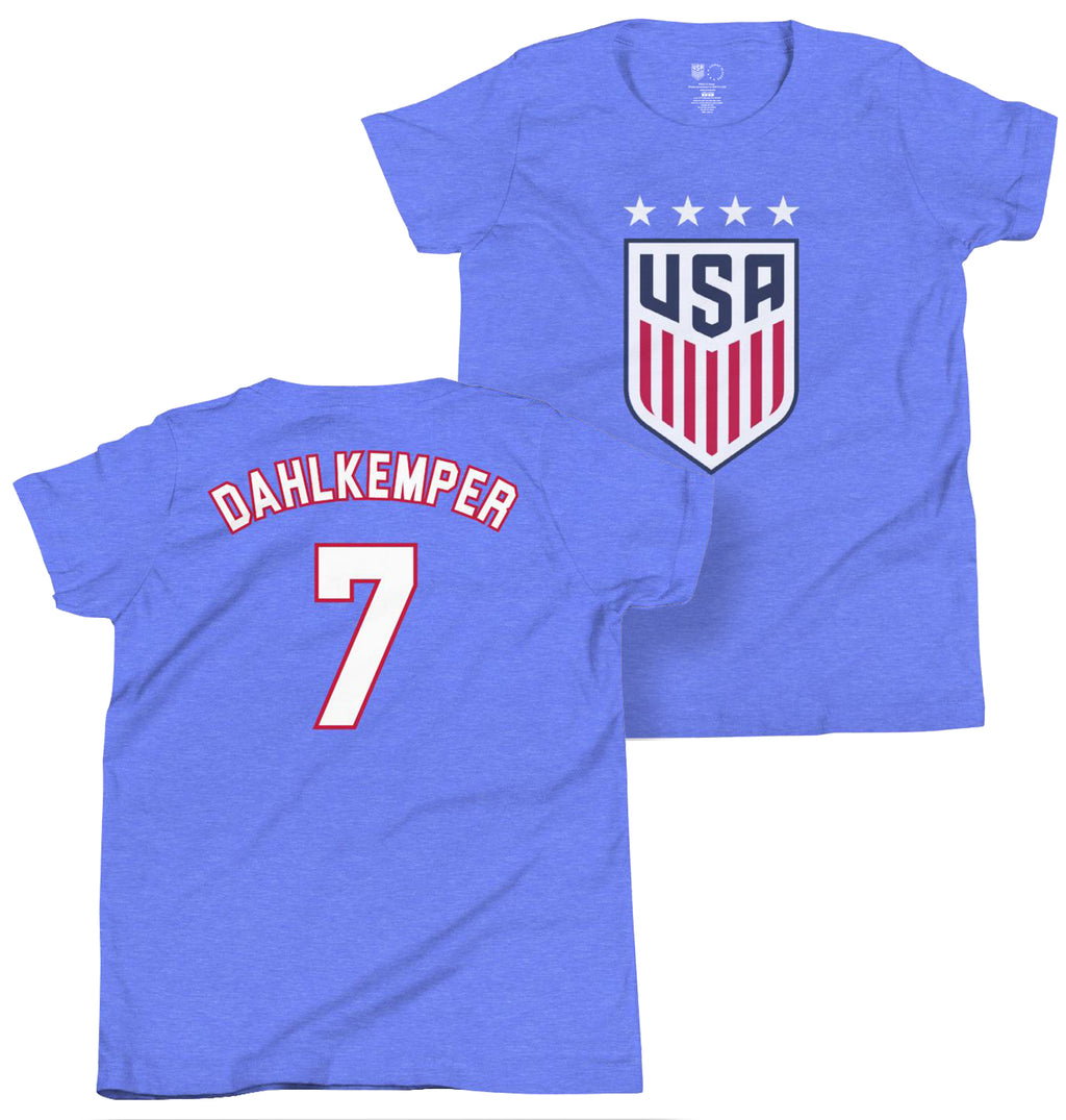 Abby Dahlkemper Youth USWNT 4 Star Tee