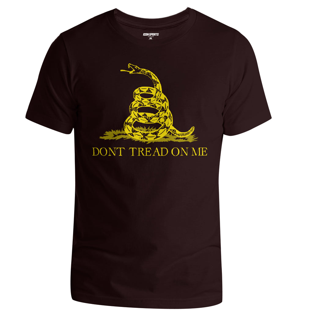 Don't Tread on Me Men's T-Shirt - Black