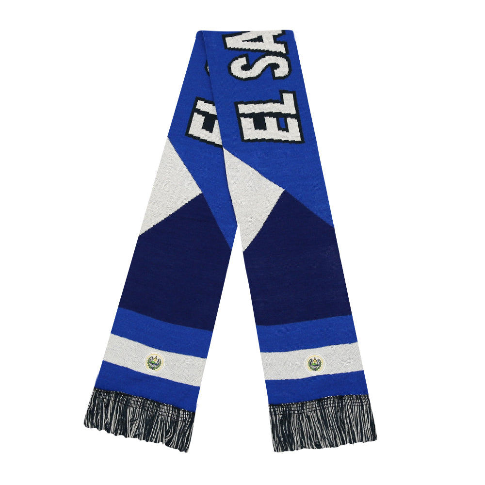 El Salvador Reversible Fan Scarf by Icon Sports