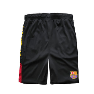 FC Barcelona Youth Shorts in Black by Icon Sports