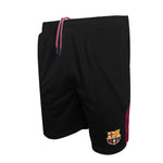 fc barcelona black shorts for men