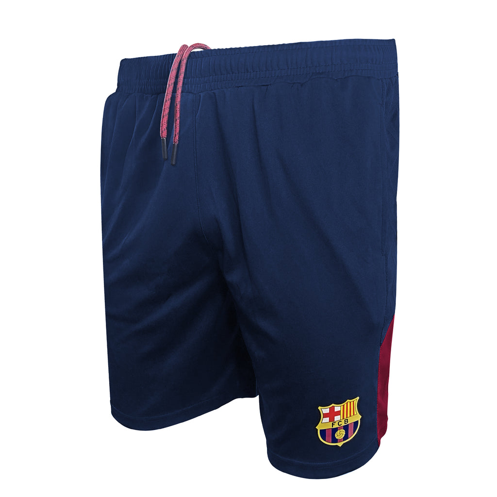 FC Barcelona Navy Men's Shorts by Icon Sports