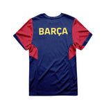 FC Barcelona Youth Game Day Striker Shirt - Navy by Icon Sports