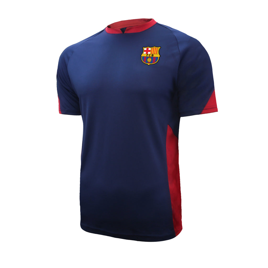 FC Barcelona Raglan Game Class Striker Shirt - Navy by Icon Sports