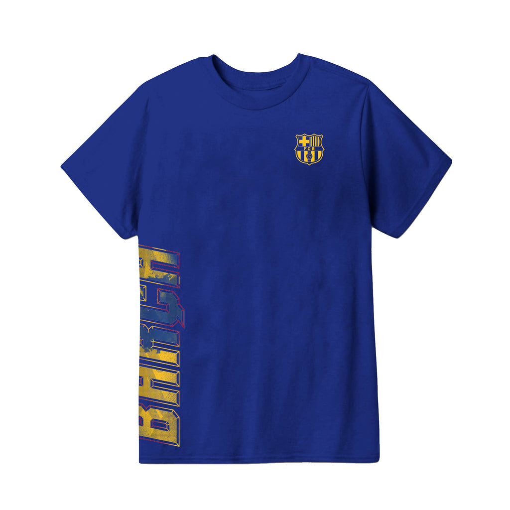 FC Barcelona Youth T-Shirt - Royal Blue by Icon Sports