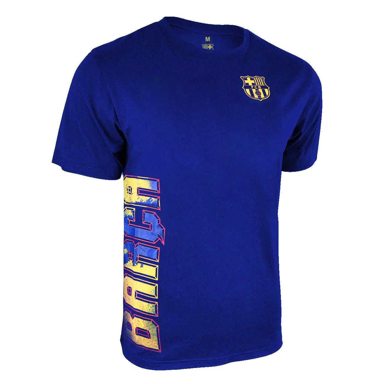 FC Barcelona T-Shirt - Royal Blue by Icon Sports