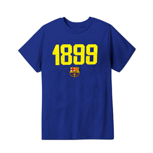FC Barcelona 1899 Youth T-Shirt - Navy by Icon Sports