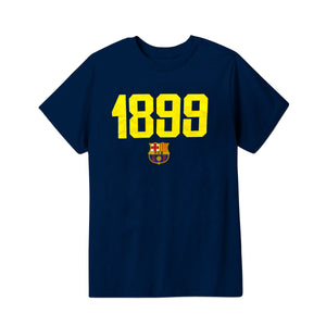 FC Barcelona 1899 Youth T-Shirt - Yellow by Icon Sports