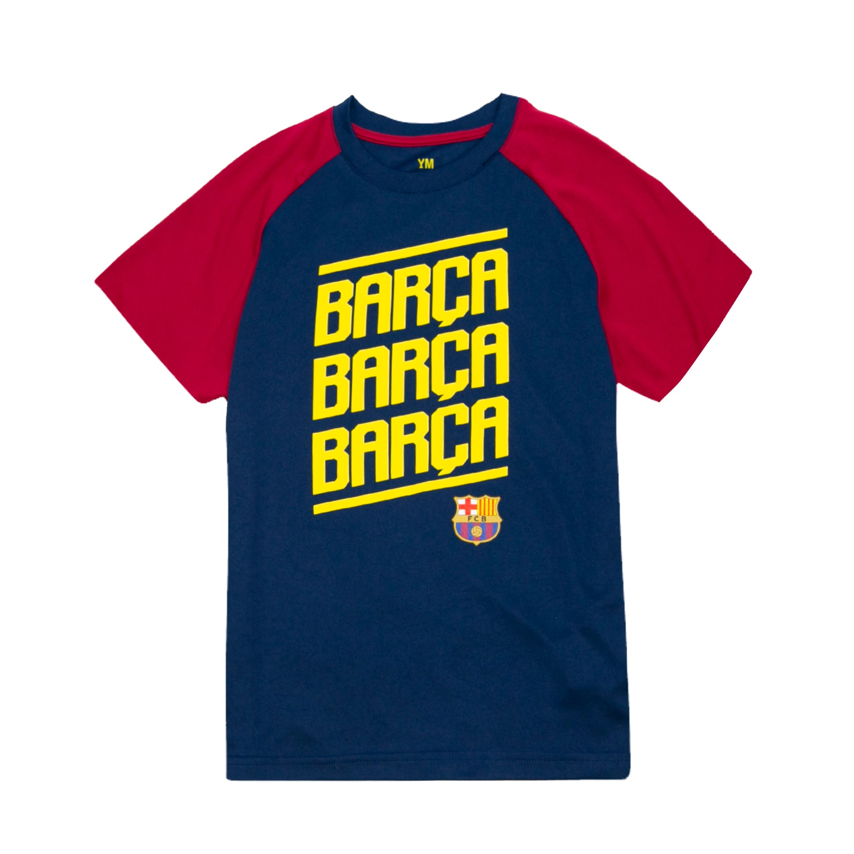 FC Barcelona Youth Barça Polyester Tee - Navy by Icon Sports