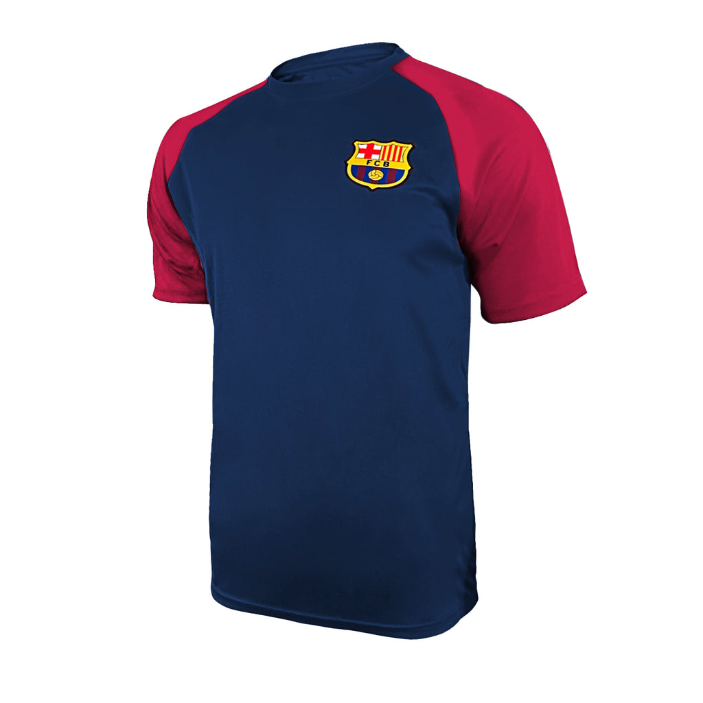FC Barcelona Training Class Shirt - Navy by Icon Sports