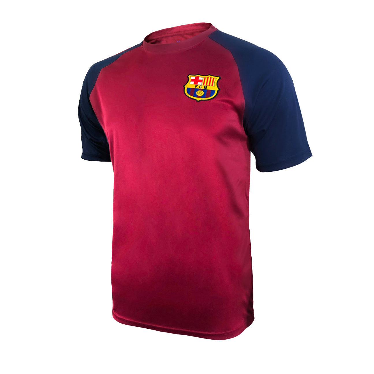 FC Barcelona Training Class T-Shirt - Red by Icon Sports