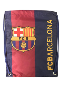 FC Barcelona Drawstring Cinch Bag by Icon Sports