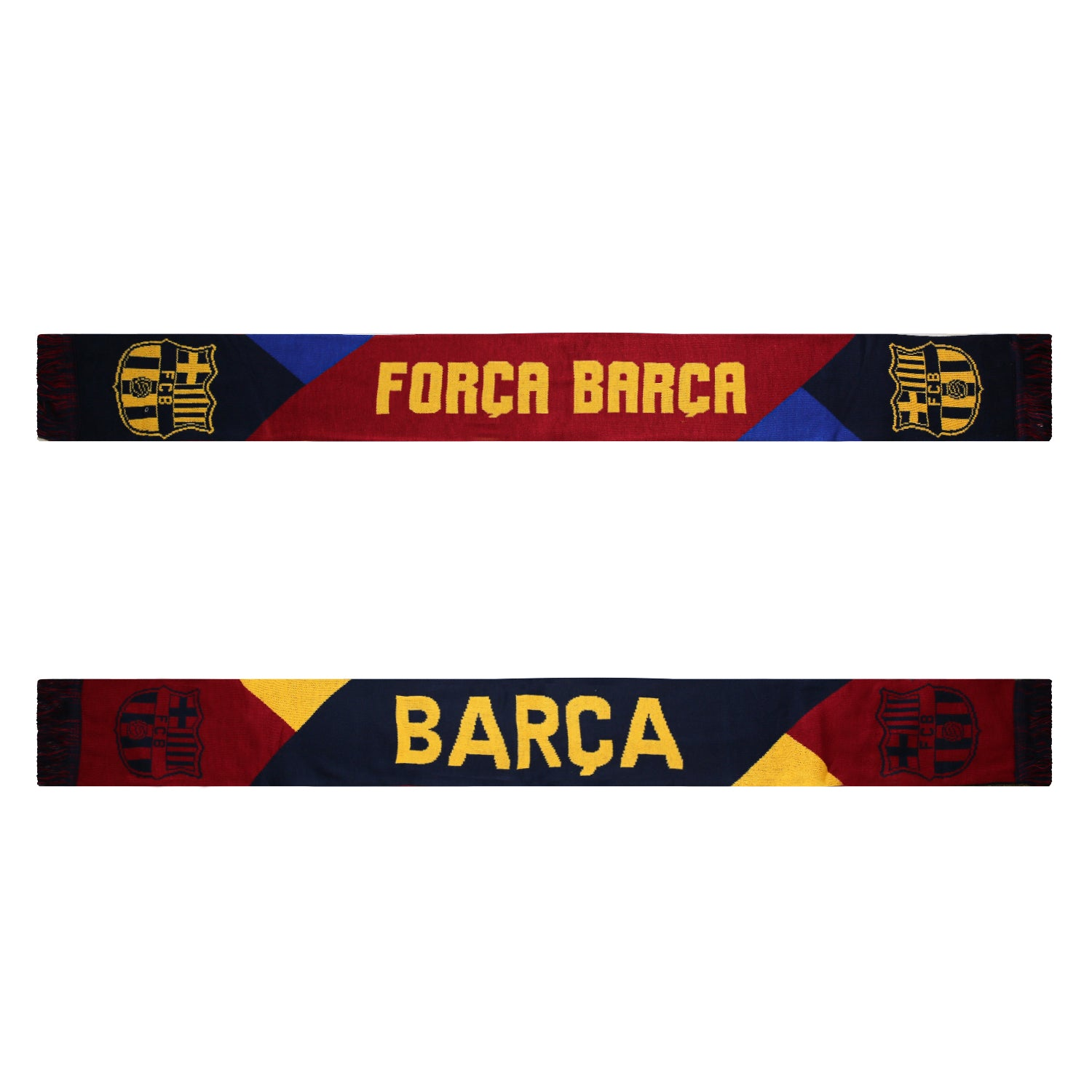 FC Barcelona Facet Reversible Fan Scarf by Icon Sports