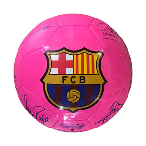 FC Barcelona Player Signature Size 5 Soccer Ball
