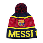 FC Barcelona Pegged Barça Pom Beanie by Icon Sports