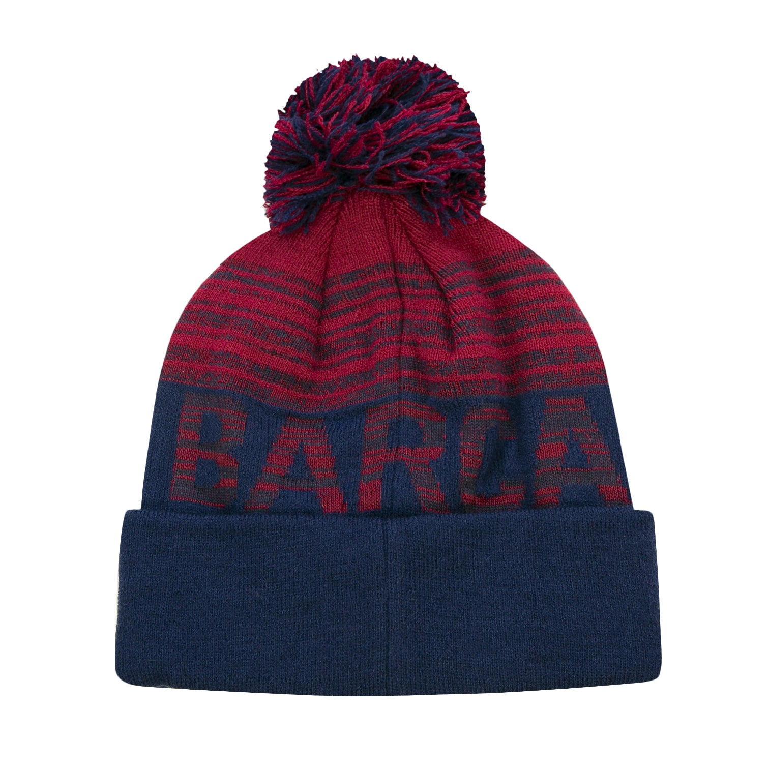 FC Barcelona Shade Barça Pom Youth Beanie by Icon Sports