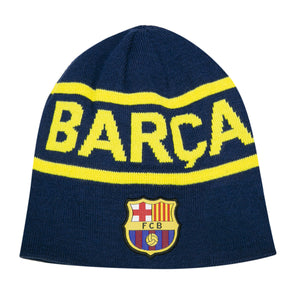 FC Barcelona Barça Reversible Beanie by Icon Sports