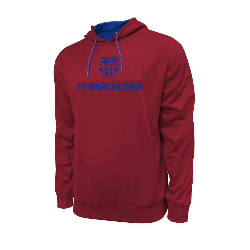 FC Barcelona Messi Hyper OL Pullover Hoodie - Red by Icon Sports