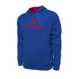 FC Barcelona Messi Hyper OL Pullover Hoodie - Blue by Icon Sports