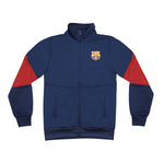 "FC Barcelona Youth Full-Zip ""Touchline"" Track Jacket in Navy by Icon Sports"
