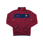 "FC Barcelona ""Centering"" Youth Full-Zip Track Jacket - Red by Icon Sports"