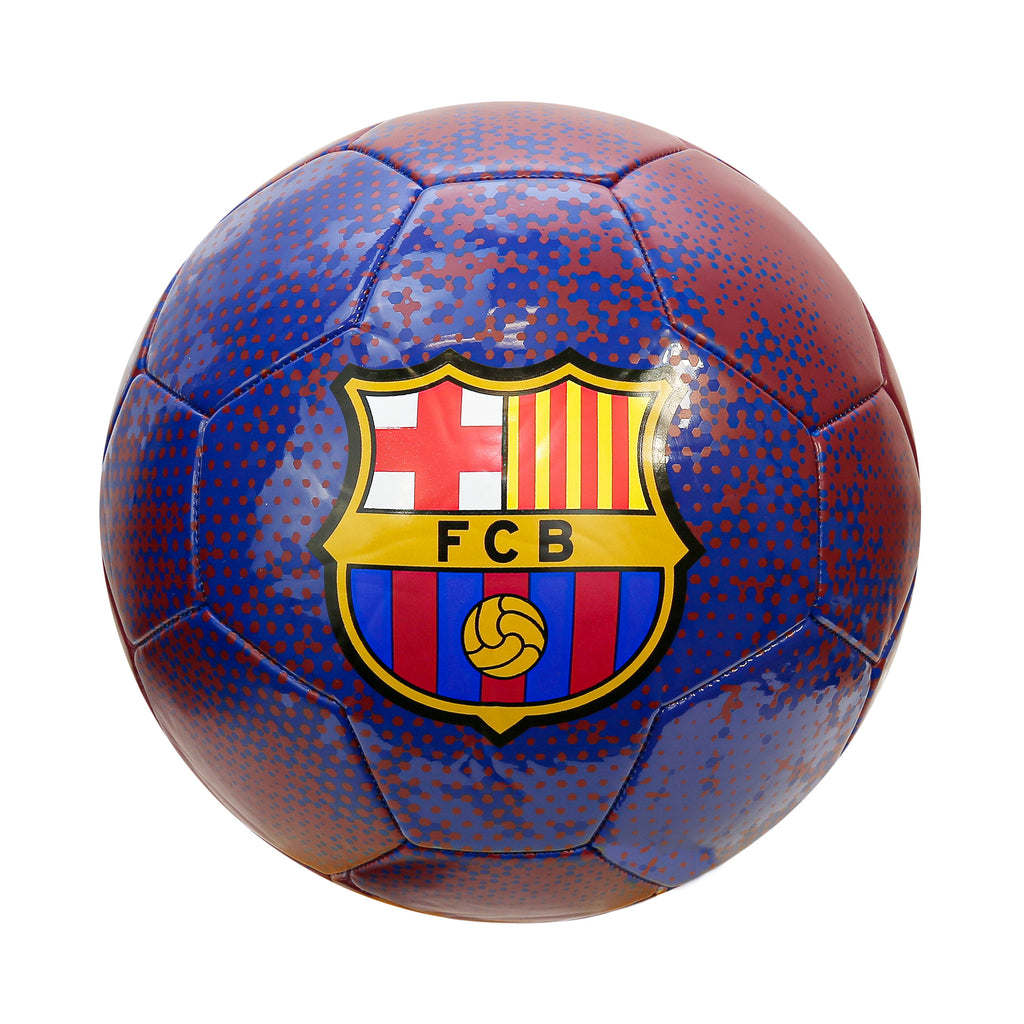 FC Barcelona Solarized Size 5 Soccer Ball by Icon Sports