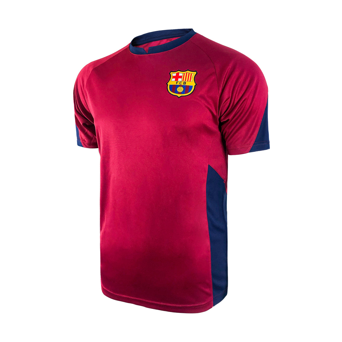 FC Barcelona Game Class Striker Shirt - Burgundy by Icon Sports